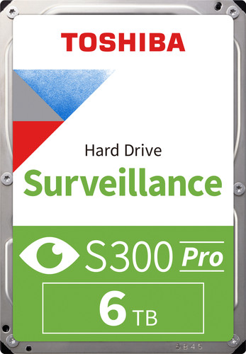 Toshiba S300 PRO Surveillance Hard Drive 6TB HDWT360UZSVA Main Image