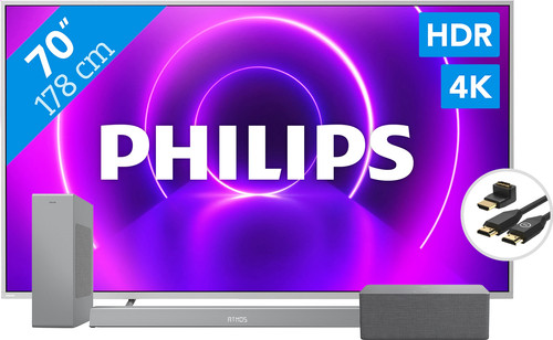 Philips 70PUS8505 + Soundbar + Wifi speaker + HDMI kabel Main Image