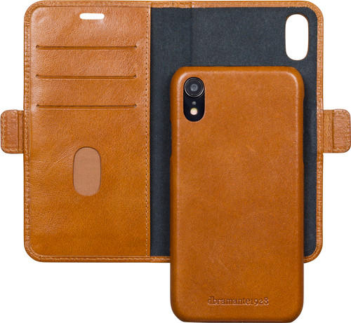 DBramante1928 Lynge Apple iPhone Xr 2-in-1 Case Leer Bruin Main Image