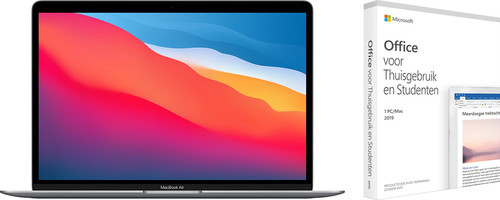 Apple MacBook Air (2020) MGN73N/A Space Gray + Microsoft Office 2019 Main Image