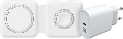 Apple Dubbele Draadloze MagSafe Oplader 15W + XtremeMac 20W Oplader Main Image