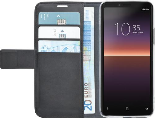 Azuri Wallet Sony Xperia 10 II Book Case Zwart Main Image
