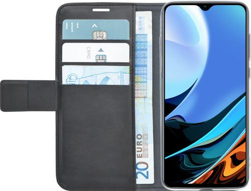 Azuri Wallet Xiaomi Redmi 9T Book Case Zwart Main Image