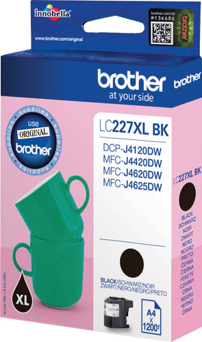 Brother LC-227XL Cartridge Black Main Image