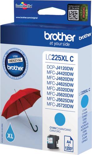 Brother LC-225XL Cartridge Cyan Main Image