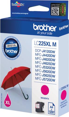 Brother LC-225XL Cartridge Magenta Main Image