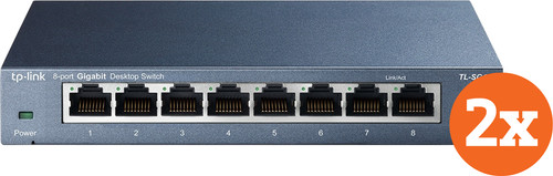 TP-Link TL-SG108 Duo Pack Main Image