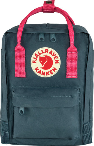 Fjällräven Kånken Mini Royal Blue-Flamingo Pink 7L - Children's backpack Main Image