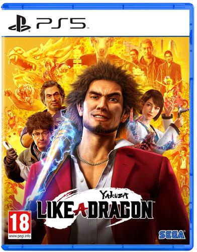 Yakuza Like A Dragon PS5 Main Image