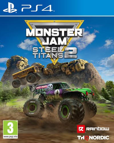 Monster Jam Steel Titans 2 PS4 Main Image