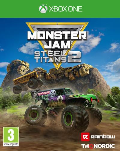 Monster Jam Steel Titans 2 Xbox One Main Image