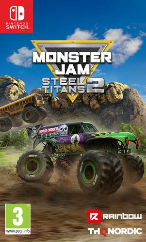 Monster Jam Steel Titans 2 Nintendo Switch Main Image