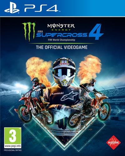 Monster Energy Supercross 4 PS4 Main Image