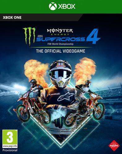 Monster Energy Supercross Xbox One Main Image