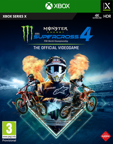 Monster Energy Supercross 4 Xbox Series X Main Image