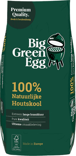Big Green Egg Premium Natural Charcoal 9kg Main Image