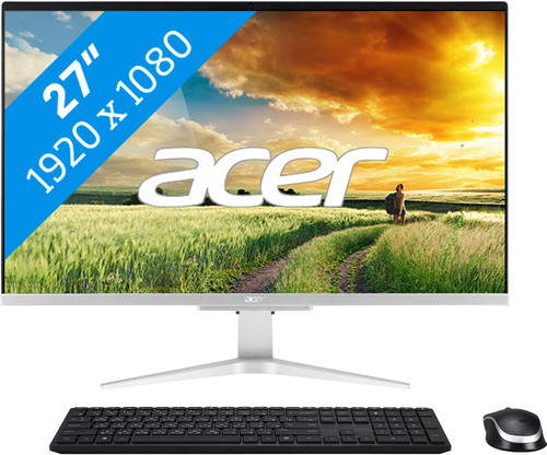 Acer Aspire C27-1655 I7512 NL All-in-One Main Image