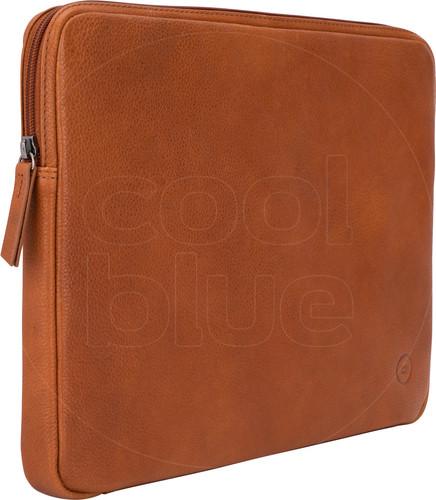 BlueBuilt 13 inch Laptophoes breedte 31 cm - 32 cm Leer Cognac Main Image