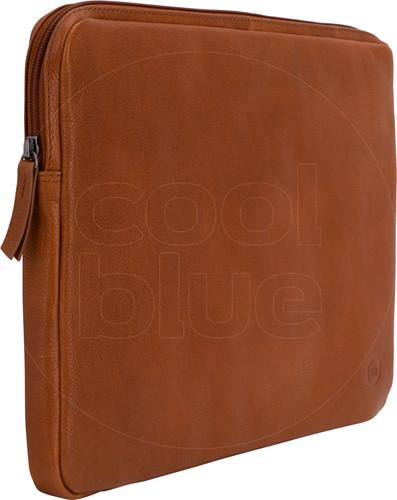 BlueBuilt 15 inch Laptophoes breedte 34 cm - 35 cm Leer Cognac Main Image