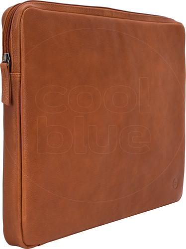 BlueBuilt 17 inch Laptophoes breedte 40 cm - 41 cm Leer Cognac Main Image