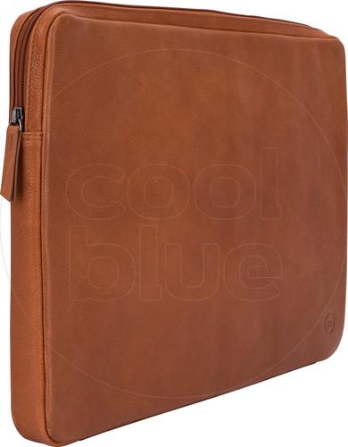 BlueBuilt 17 inch Laptophoes breedte 41 cm - 42 cm Leer Cognac Main Image