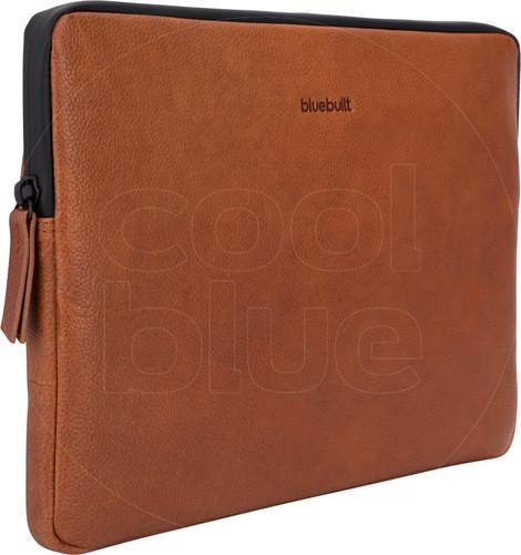 BlueBuilt Laptophoes Leer Cognac / Voor 13 inch Apple MacBook Air/Pro Main Image