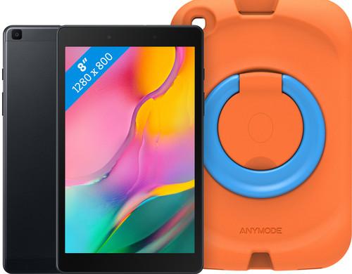 Samsung Galaxy Tab A 8.0 (2019) 32 GB Wifi Zwart + Samsung Kinderhoes Oranje Main Image