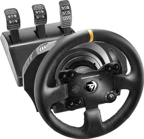 Thrustmaster TX Racing Wheel Leather Edition Xbox One & PC Main Image