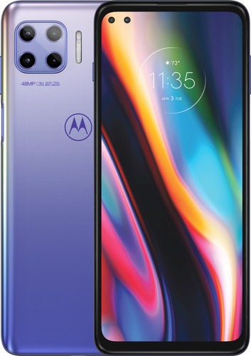 Motorola Moto G 5G Plus 128GB Purple Main Image