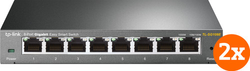 TP-Link TL-SG108E Duo Pack Main Image