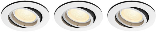Philips Hue Centura Inbouwspot White & Colour rond wit 3-Pack Main Image