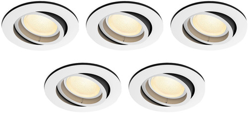 Philips Hue Centura Inbouwspot White & Colour rond wit 5-Pack Main Image