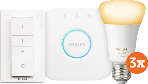Philips Hue White Ambiance Starter Pack E27 Main Image