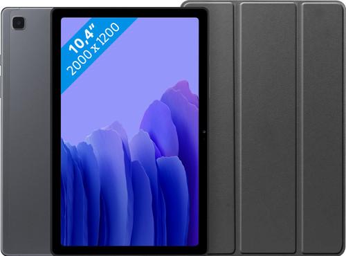 Samsung Galaxy Tab A7 32GB WiFi + 4G Gray + Just in Case Book Case Black Main Image