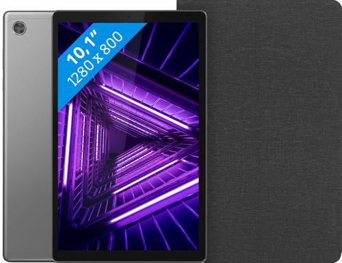 Lenovo Tab M10 HD (2de generatie) 32 GB Wifi Grijs + Lenovo Book Case Zwart Main Image