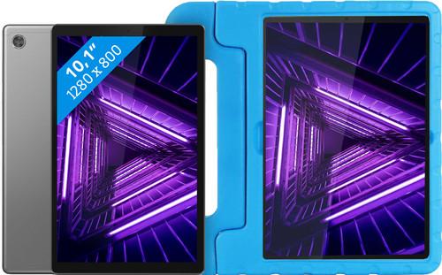 Lenovo Tab M10 HD (2de generatie) 32 GB Wifi Grijs + Just in Case Kinderhoes Blauw Main Image