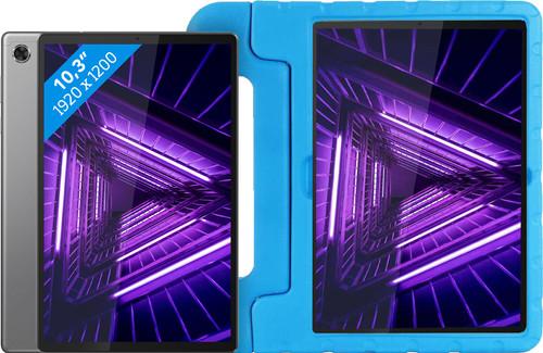 Lenovo Smart Tab M10 Plus (2de generatie) 128 GB Wifi Grijs + Just in Case Kinderhoes Main Image