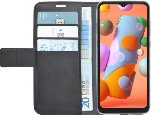 Azuri Wallet Samsung Galaxy A12 Book Case Zwart Main Image