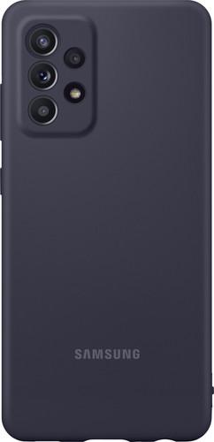 Samsung Galaxy A52 Siliconen Back Cover Zwart Main Image