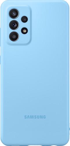 Samsung Galaxy A52 Siliconen Back Cover Blauw Main Image