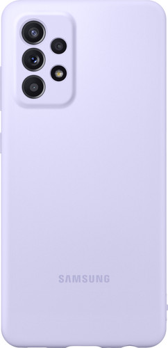 Samsung Galaxy A52 Siliconen Back Cover Paars Main Image