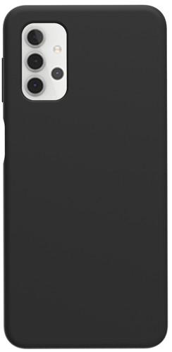 Azuri Samsung Galaxy A32 5G Back Cover Siliconen Zwart Main Image
