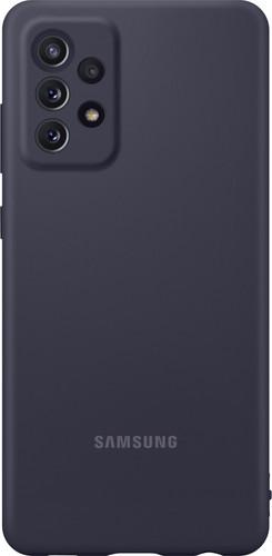 Samsung Galaxy A72 Siliconen Back Cover Zwart Main Image