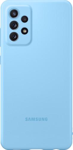 Samsung Galaxy A72 Siliconen Back Cover Blauw Main Image