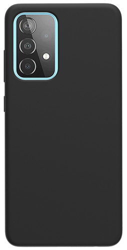 Azuri Samsung Galaxy A52 Back Cover Siliconen Zwart Main Image