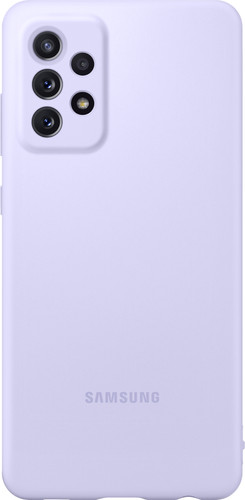 Samsung Galaxy A72 Siliconen Back Cover Paars Main Image