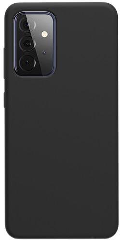Azuri Samsung Galaxy A72 Back Cover Siliconen Zwart Main Image
