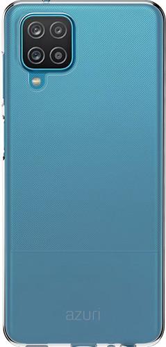 Azuri TPU Samsung Galaxy A12 Back Cover Transparant Main Image