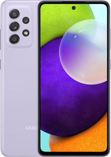 Samsung Galaxy A52 128GB Paars 4G Main Image