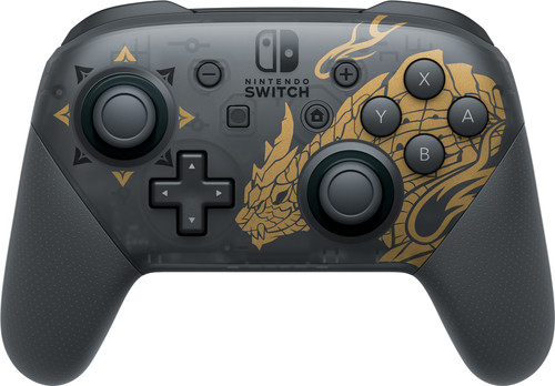 Nintendo Switch Pro Controller Monster Hunter Rise Edition Main Image